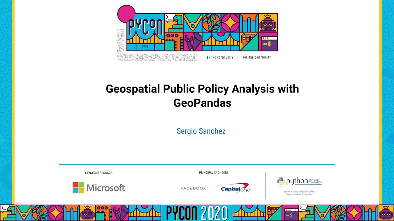 Image from Geospatial Public Policy Analysis with GeoPandas