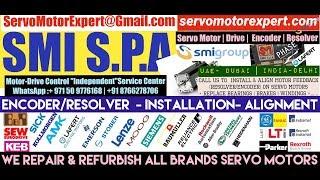How to install SMI SPA SML Encoder Align Resolver Angle Adjust Servo Motor Drive Parameters Dubai