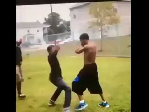 Disabled Kids Fighting