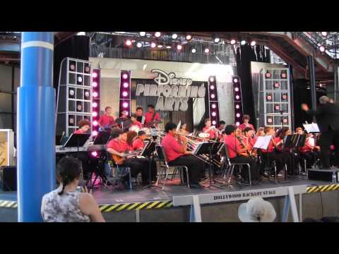 Pirates of the Caribbean 2013 Disneyland by Buchser Middle School Advanced Symphonic Band