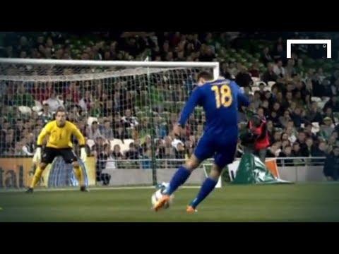 Fantastic strike from Shomko - Ireland vs Kazakhstan