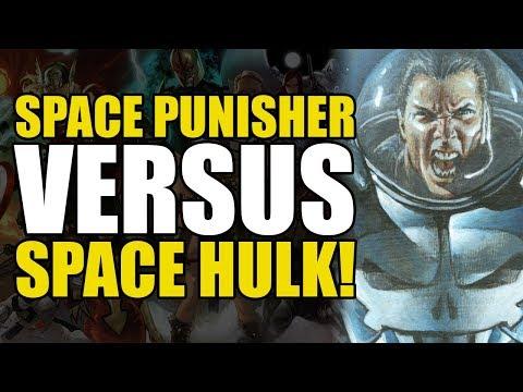 Space Punisher vs Space Punisher Hulk! (Space Punisher Vol 1)