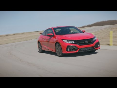 The 2017 Honda Civic Si's First Appearance: The Production Model Revealed