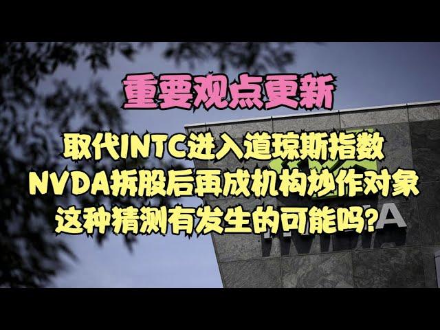 重要观点更新   精选INTC进入道光指数?NVDA股分解成机构炒作对象,这种有可能发生的事情吗?