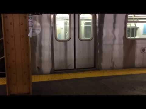 IRT Eastern parkway line: R62 & R142 (2) (3) trains @Franklin Ave
