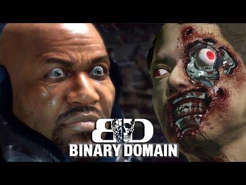TALKING TRASH - Binary Domain Gameplay