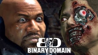 TALKING TRASH - Binary Domain Gameplay