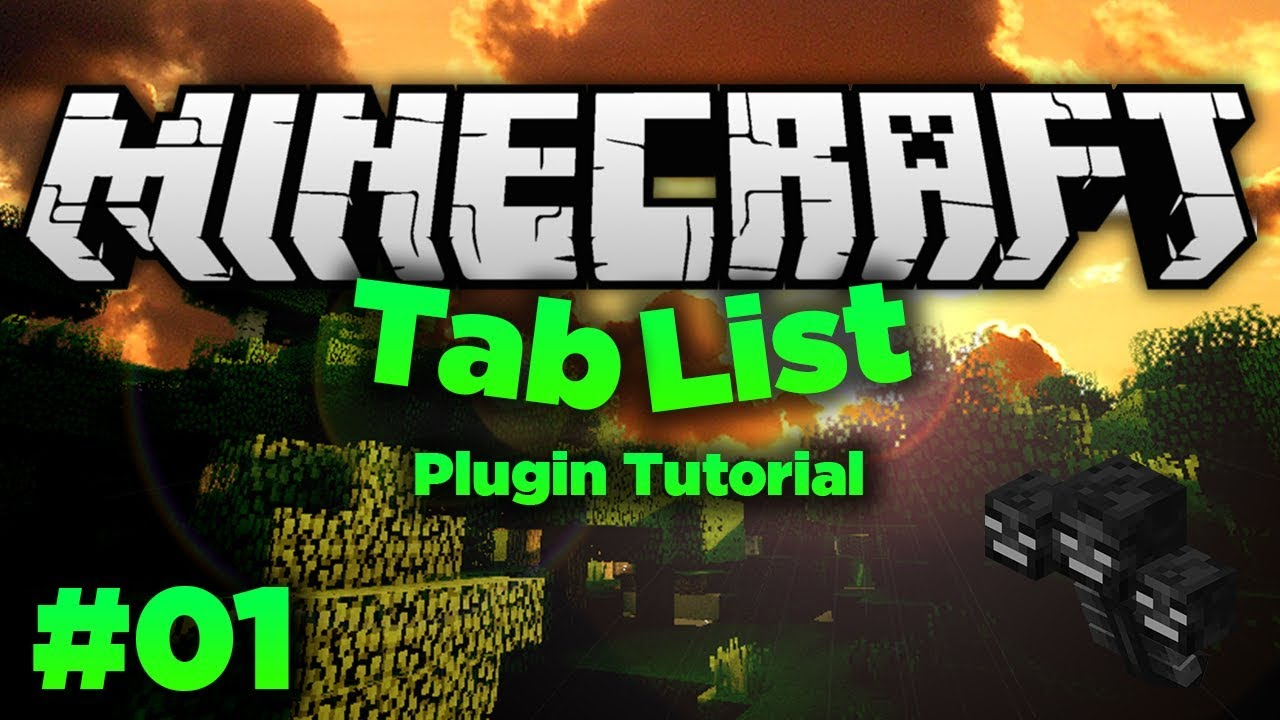 Animated Tab List Plugin Review | Minecraft Server Plugin Tutorial