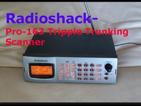 radio shack pro 163 triple trunking scanner my new toy. Black Bedroom Furniture Sets. Home Design Ideas