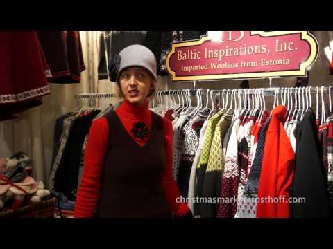 Old World Christmas Market at The Osthoff Resort with Avelin Yost of Baltic Inspirations