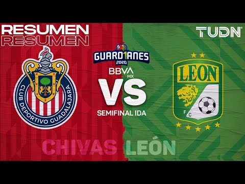 Guadalajara Chivas Club Leon Goals And Highlights
