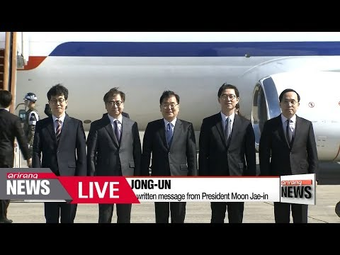 [LIVE/ARIRANG NEWS] S. Korean delegation heads to N. Korea for talks - 2018.03.05