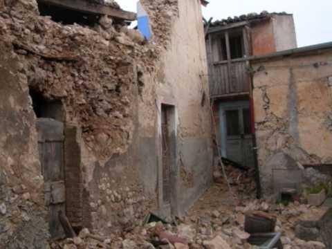 terremoto bagno l 39 aquila 2 parte youtube