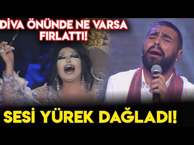 Salih Zülüfoğlu Söylediği Şarkı İle Yürek Dağladı Bülent Ersoy Önünde Ne Varsa Fırlattı!