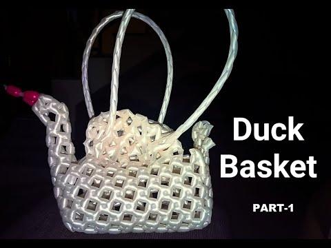 Duck Basket Part-1 In Kannada   BangaloreBasket   BasketMaking