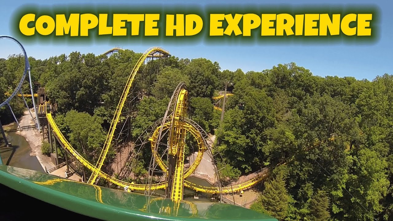 The loch ness monster on ride complete hd experience - Busch gardens williamsburg rides ...