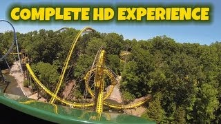 The Loch Ness Monster On-ride (Complete HD Experience) Busch Gardens Williamsburg