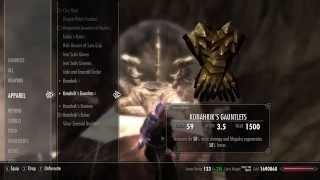 Skyrim Mods - Konahriks Accoutrements - Dragon Priest Armory PART 2