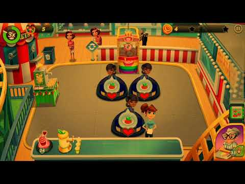 Diner DASH Adventures - Chapter 17 - Getting ALL STARS In New Venue Florence's Snack Shoppe
