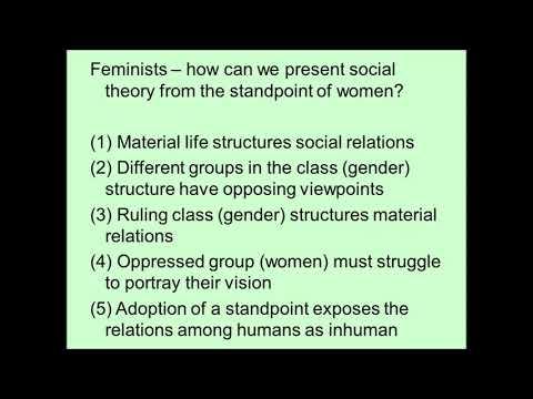 Feminist Social Theory