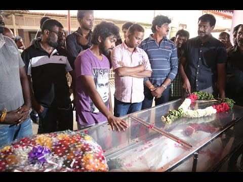 Industry pays Final Tribute to Editor Kishore | GV Prakash | Dhansika - BW