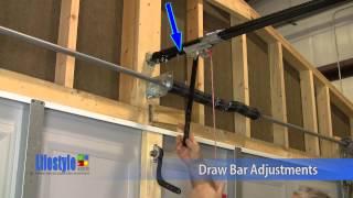 Lifestyle Screens: Garage Door Adjustments - Opener, Draw Bar, And Back Hang