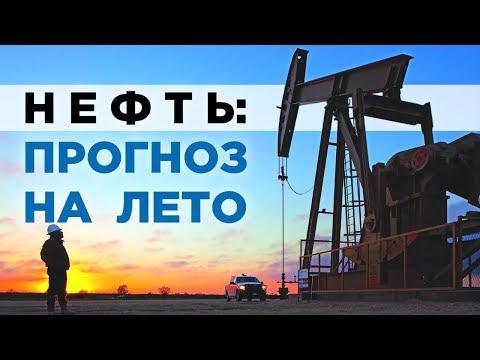 Прогноз цены на нефть на лето 2019. Последние новости