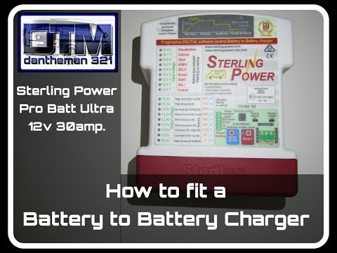 How To Wire A Battery To Battery Charger Sterling Power Pro Batt Ultra