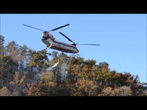 Columbia Model 234 Chinook Fire Suppression-Jenkins Ky Nov.2016