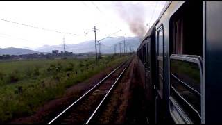 Zilina - Vrutky parnym vlakom 4.6. 2011 cast 1