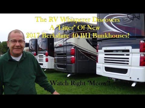 The RV Whisperer Walks Us Through The 2017 Berkshire XL 40 BH!