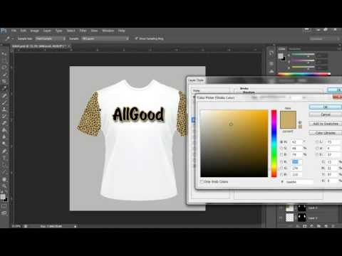 How to design a T-shirt in Photoshop