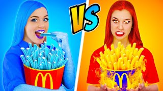 Hot vs Cold Girl Challenge | Icy Girl VS Girl On Fire!