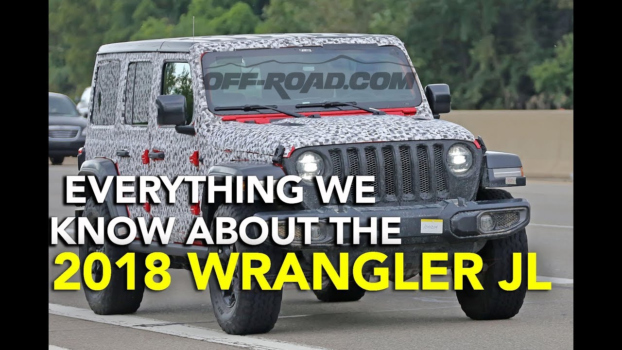 2018 jeep 2 0 turbo. modren turbo everything we know about the 2018 jeep wrangler jl for jeep 2 0 turbo
