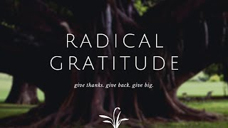 "October 25, 2020 - ""Give Thanks"""
