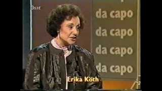Erika Köth - Da Capo - Interview with August Everding 1988