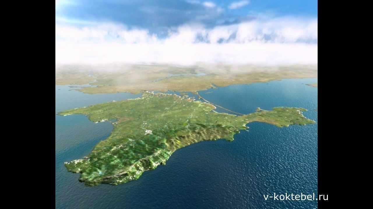 карта Крыма - YouTube