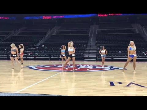 Detroit Pistons Dancers Auditions 2017
