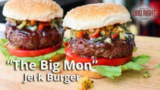 """The Big Mon"" Jerk Burger"