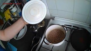 Быстрая еда. Как варить гречку.