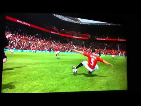 Rio Ferdinand Tackles Himself
