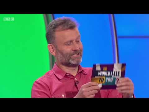 Did Hugh Dennis get a cat and treat it like a dog?  Would I Lie to You? HDCC