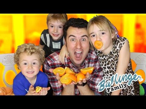 Exact Instructions CHALLENGE - Kids Teach How to Make Orange Juice!