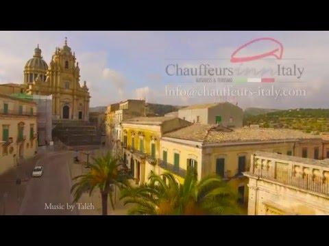 Chauffeurs in Italy - Ragusa Ibla - Sicily