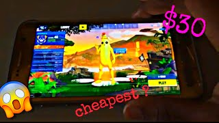 WHAT IS CHEAPEST DEVICE TO PLAY FORTNITE ?