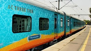 Vijayawada - Howrah Humsafar Superfast Express    First Day    Luxurious High Speed Train   