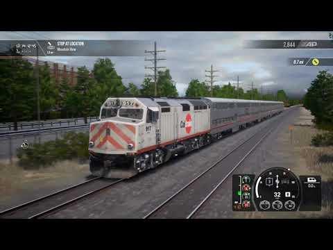 Train Sim World® 2: Peninsula Corridor: San Francisco - San Jose Route Add-On F40PH 2CAT |