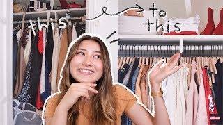 organizing my hot mess of a closet