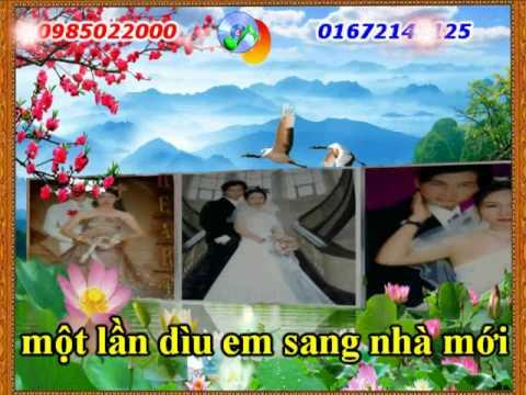 karaoke nhac song cho toi duoc 1 lan beat le minh