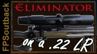 Burris Eliminator on a .22 LR